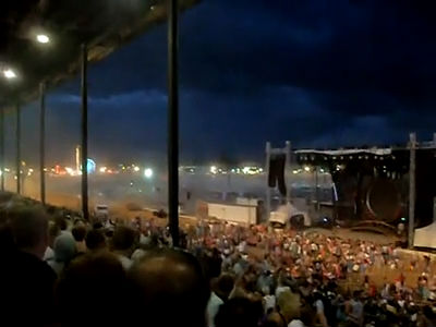 Stage Collapse at the Indiana Fairgrounds on 8/13/2011