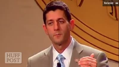 Huffington Post – Paul Ryan's Take on the American People Who Don't Want the American Dream