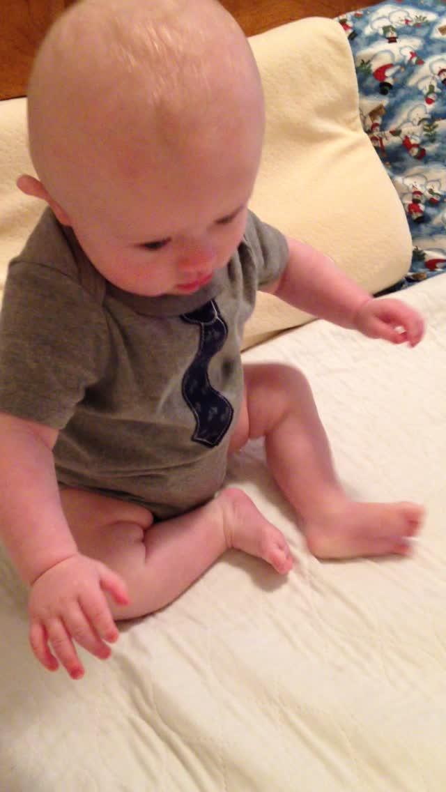 Sitting up – February 27, 2015 – IMG_2428