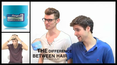 The Difference Between Hair Wax And Clay