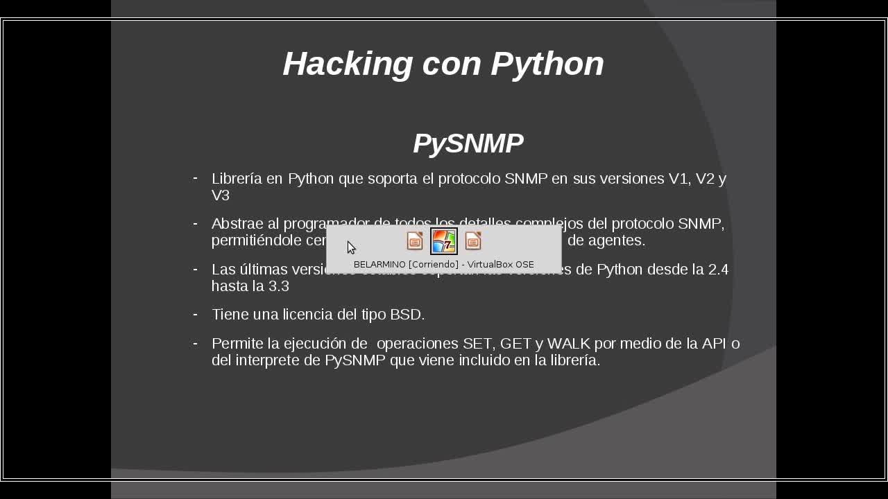 Hacking con Python Parte 34 – Examinando servicios SNMP con PySNMP