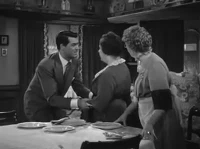 Cary Grant &#8211; 1944 &#8211; Arsenic And Old Lace The First Body