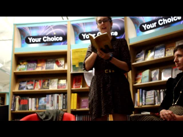 Katy Darby reads from Keep Calm and Carry On (Kilburn)