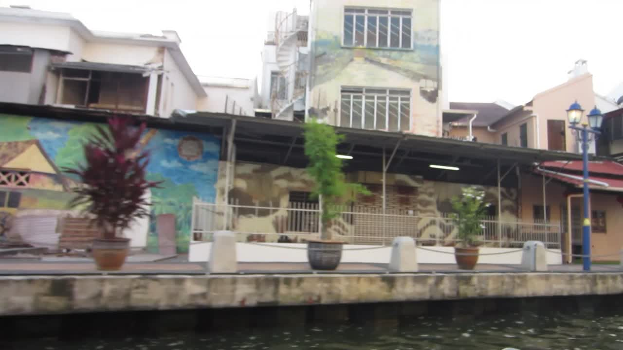 Murals from River Cruise in Malaka