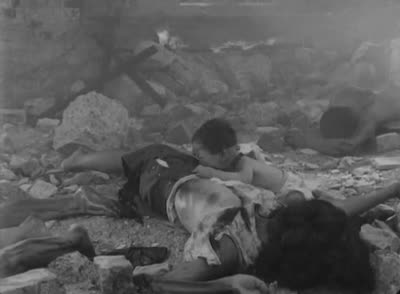 Children of Hiroshima (1952) – The bomb drops