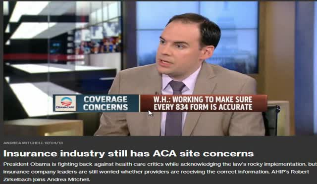 ANDREA MITCHELL – INSURANCE CO CONCERNS