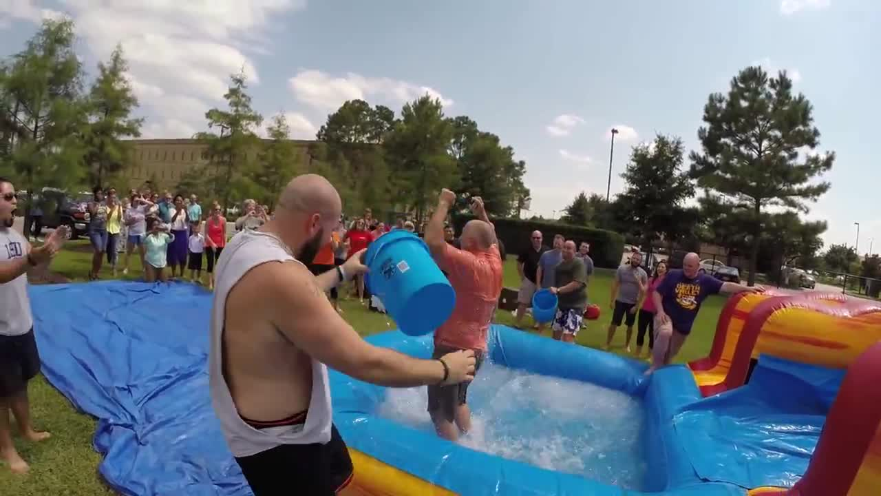 The Ultimate ALS Ice Bucket Challenge (Lamar Baton Rouge)