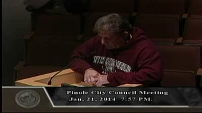 Jeff Rubin Attacks Phil Green at 1-21-2014 Council Meeting Part I