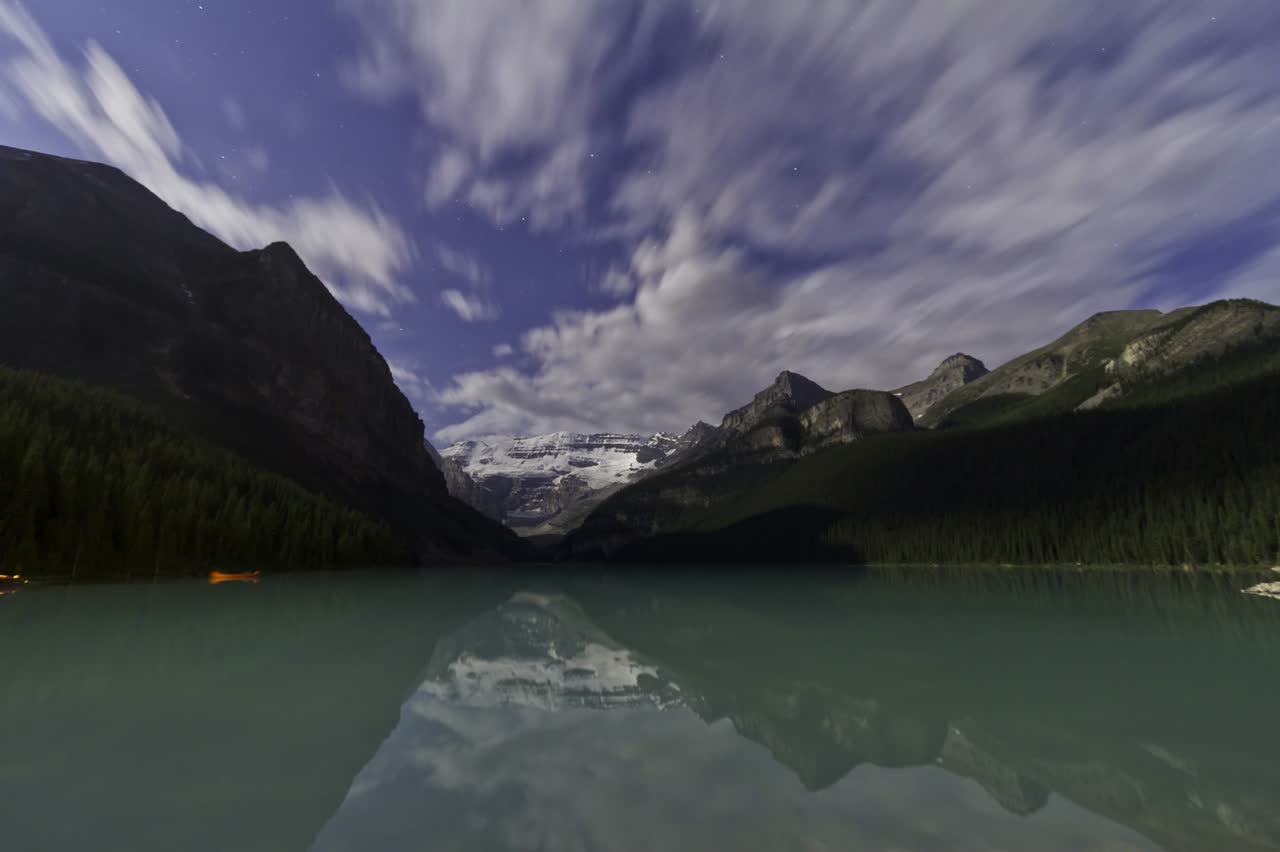 Lake Louise by Moonlight (August 13, 2011) (for Movie)