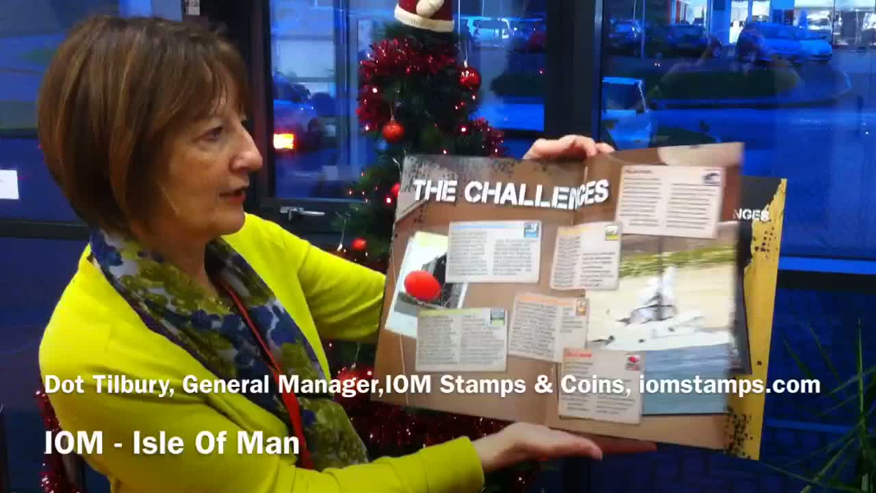 Isle Of Man Stamps Top Gear Challenges