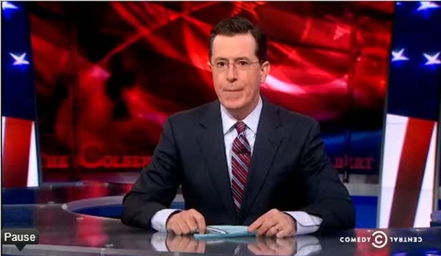 STEPHEN COLBERT – FROM CHRIS CHRISTIE TO MAGNETIZED SPERM