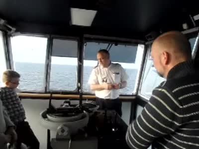 www.africanpress.me –  In the Captain's Steering Room – Stena Line Saga Oslo-Fredrikshavn-Oslo trip