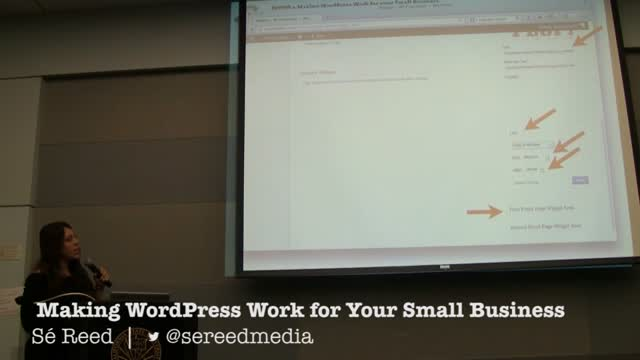 Sé Reed: DIYWP: Making WordPress Work for Your Small Business