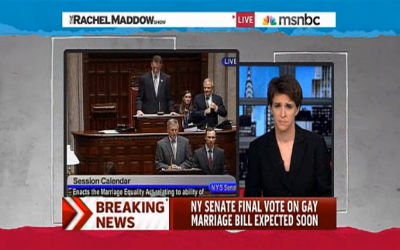 Rachel Maddow: NY Senate Passes Same-Sex Marriage Bill