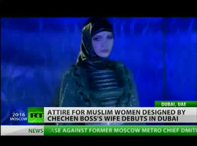 Attire for Muslim Women Designed by Chechnya Boss's Wife Debuts in Dubai