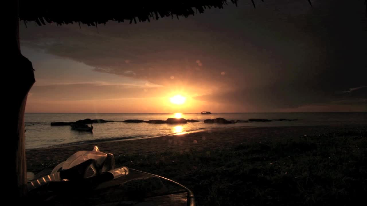 Mango Bay Sunset Timelapse