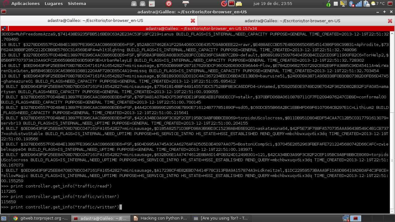 Hacking con Python Parte 23 – Controlando instancias de  TOR con Stem
