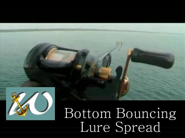 Bottom Bouncing Lure Spread