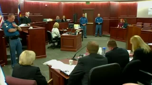 James Holmes Court &#8212; STRANGE BEHAVIOR in First Appearance