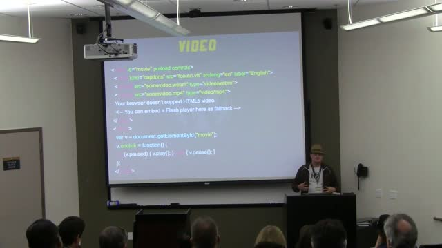 Derek Springer: 3:10 to YouTube – Navigating the Wild West of Native HTML5 Media