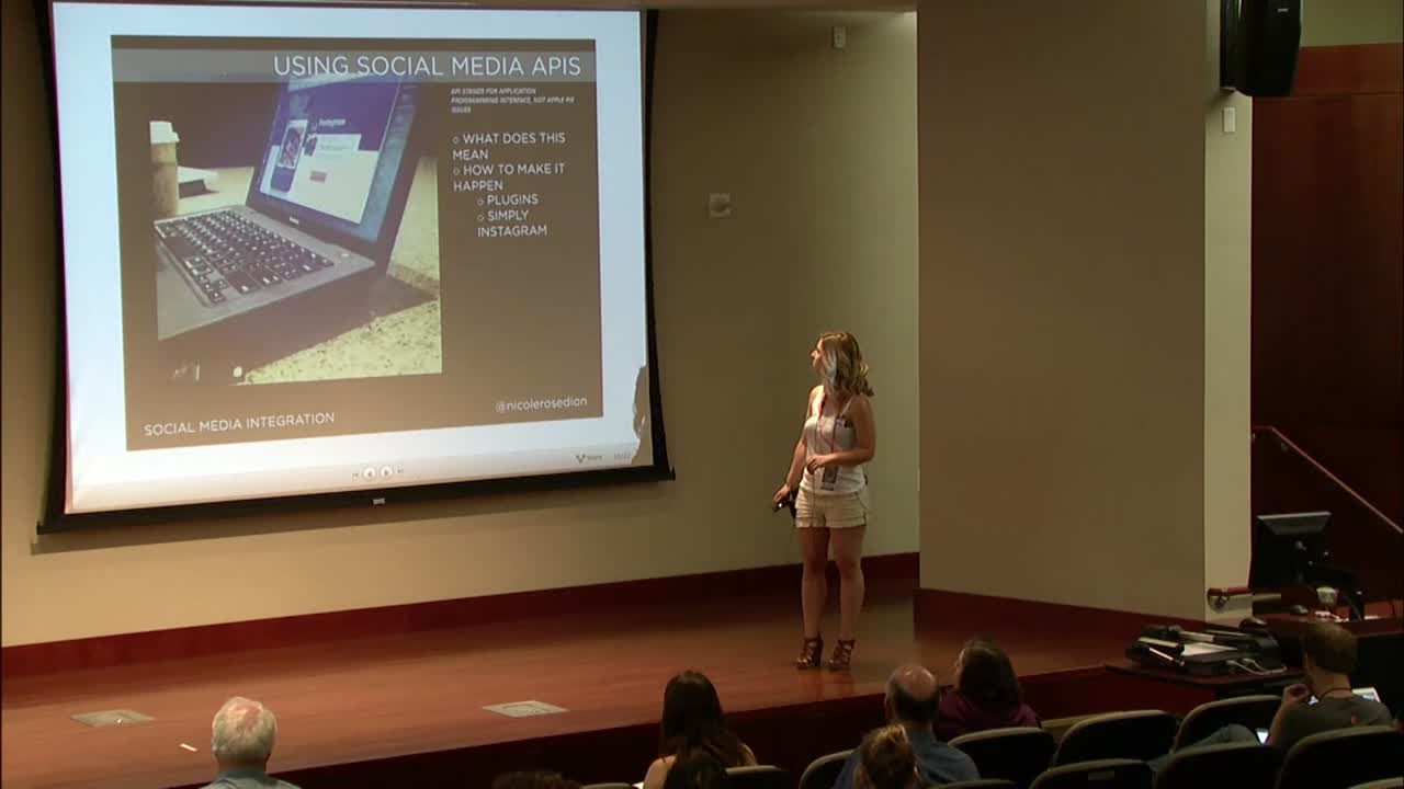 Nicole Rose Dion: Integrating Social Media into WordPress