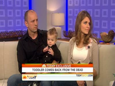 Today Show Baby alive after being pronounced dead