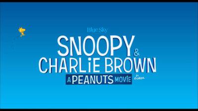 A Peanuts Movie – 2015