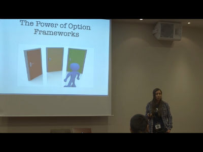 Ivelina Dimova: The Power of Option Frameworks