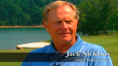 Jack Nicklaus 2002 Interview