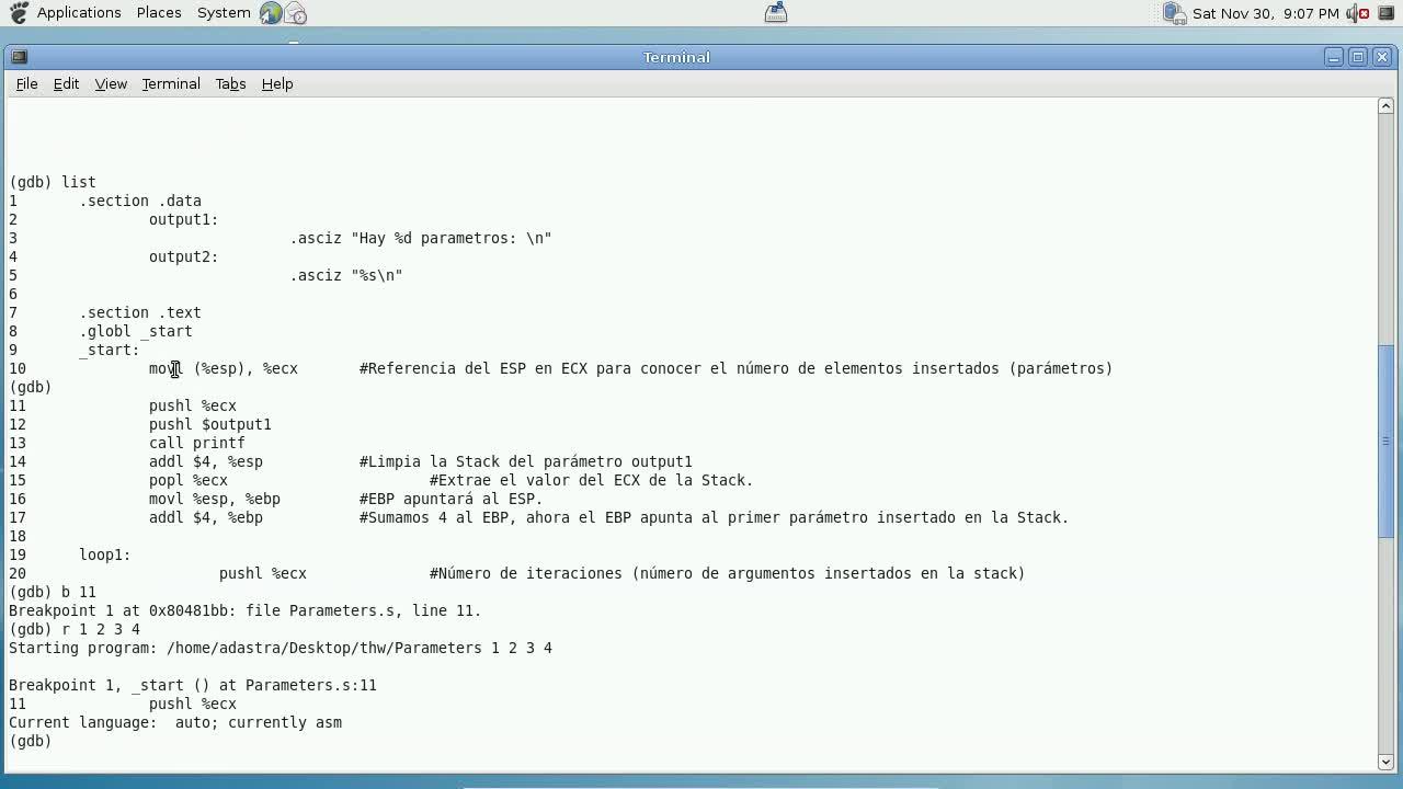 Explotación de Software Parte 10 – Elementos en la Stack