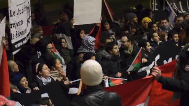 Manifestation anti-israélienne