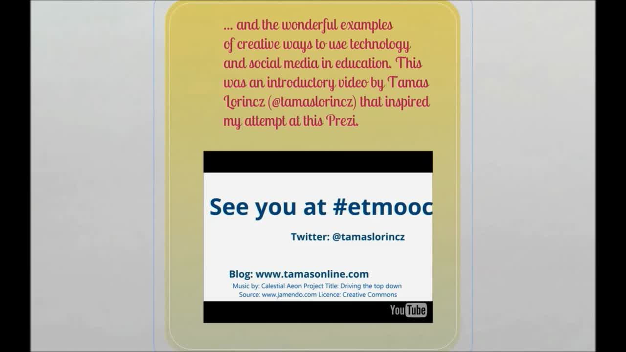 #ETMOOC An Introduction