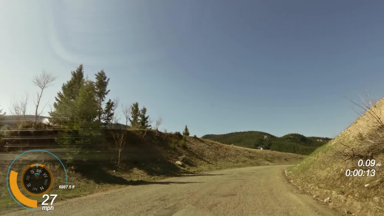 Cruising Around the Tetons