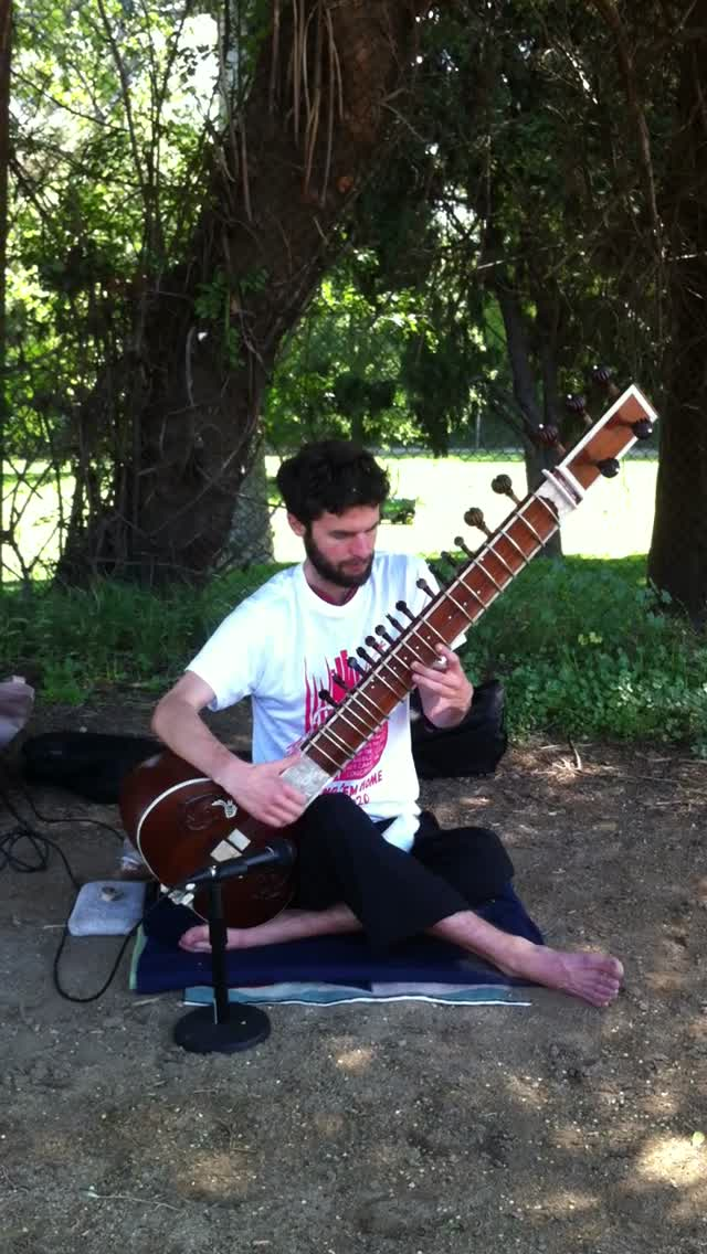 William Marsh, sitar player