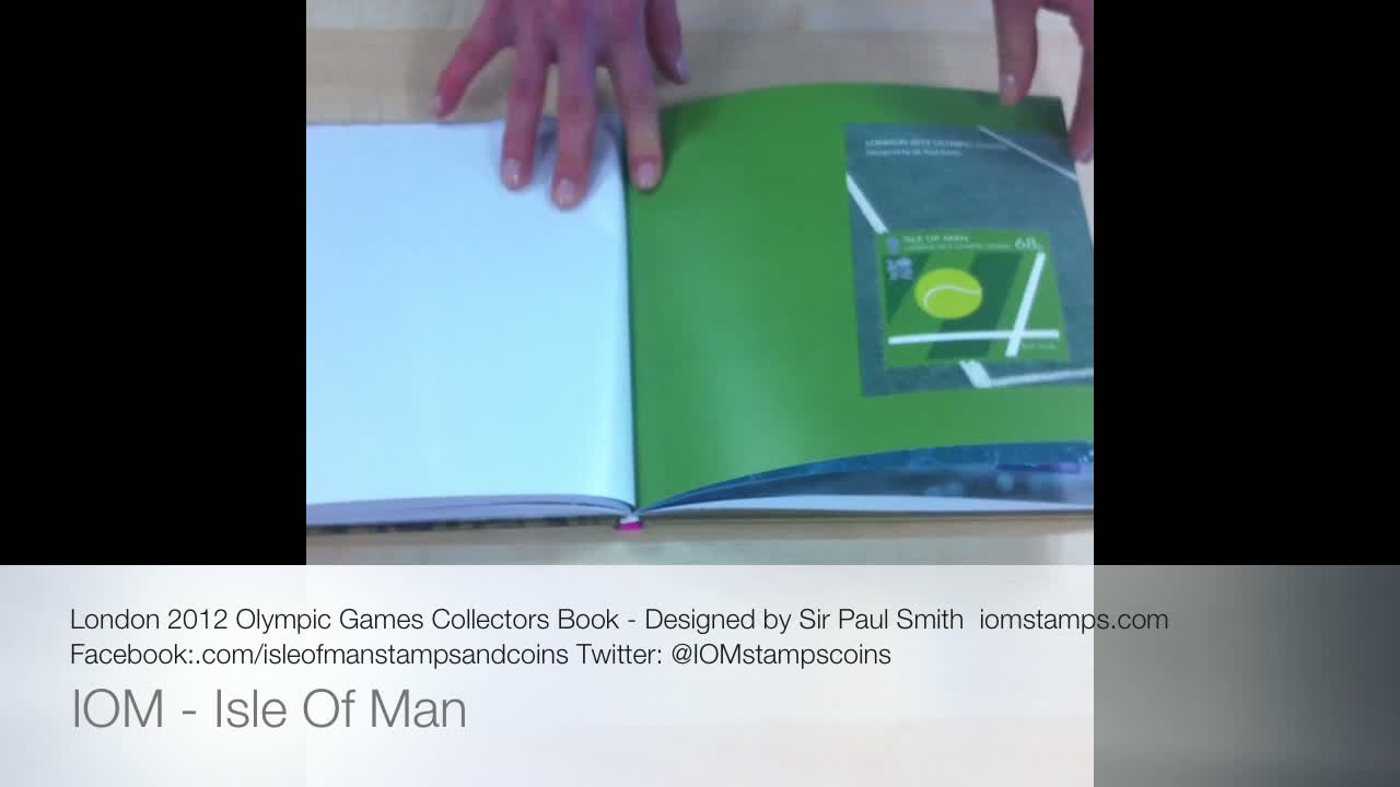Isle Of Man Stamps & Coins Presents Sir Paul Smith London 2012 Olympic Games Special Collector's Book