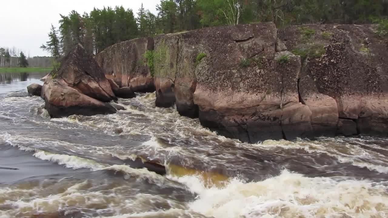 Namay Falls on the Bloodvein