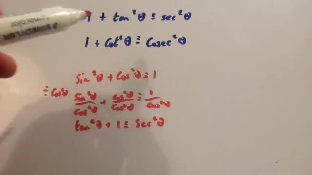 Proof of Trig Identities