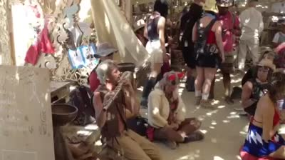 Burning Man video