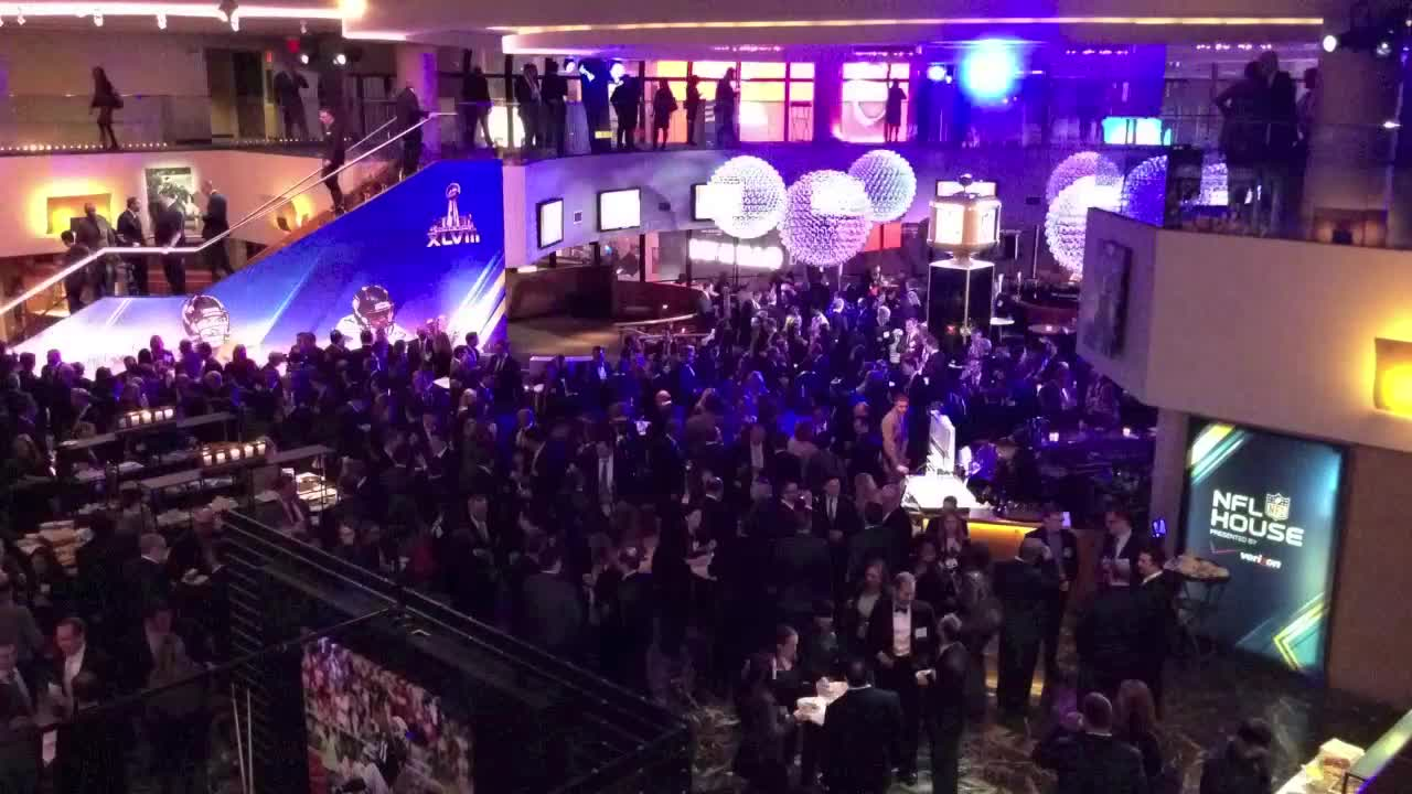 Reception Time Lapse