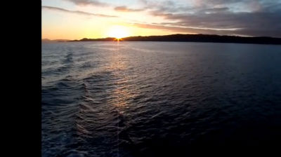 Sunset Over Scotland's Small Isles And The Isle of Skye with music by Julian LLoyd Webber