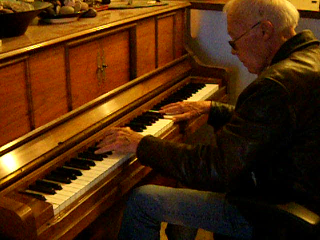 "My Dad Playing An Original Composition: ""Dukie's Rag"" Copyright Bruce Duncanson, All rights reserved."