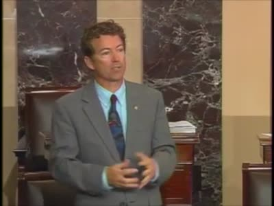 Rand Paul -Senate Violates Senate rules