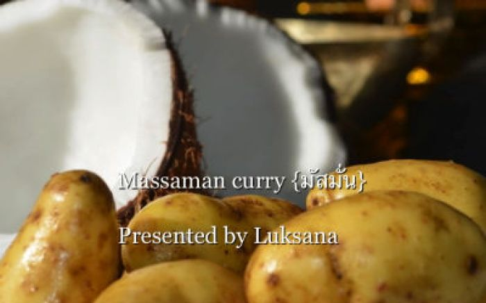 Massaman Curry By South -  Pacific Engagement