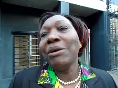 www.africanpress.me video: interview with Minister Hon Beth Mugo at the ICC, Hague. Part 2