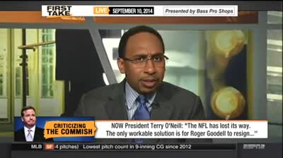 Stephen A. Smith Goes off on NOW President