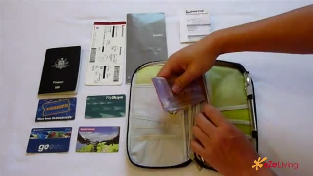Why travel with a passport and document holder-Large 540p Video Sharing