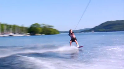 Wakeboarding at Low Wood Bay Watersports Centre