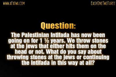 Palestinian stones V.S jewish machine guns