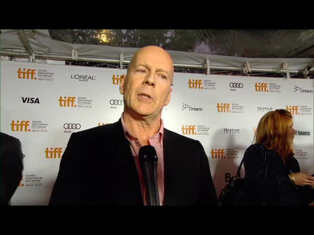 Bruce Willis TIFF Looper