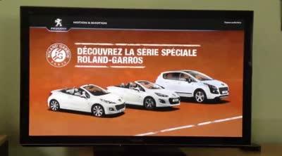 La première pub tv connectée en France
